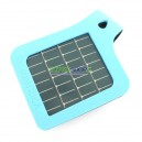 Solar Strap pour iPhone blue